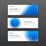 Abstract corporate web banner, slideshow template Royalty Free Stock Photo