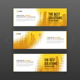 Abstract corporate web slideshow or banner layout Royalty Free Stock Image