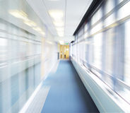 Abstract corridor Royalty Free Stock Photos