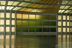 Abstract corridor in color Royalty Free Stock Photography