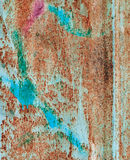 Abstract corroded colorful grunge background iron rusty artistic Stock Photo