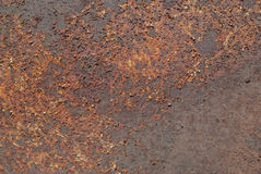 Abstract corroded colorful rusty metal background, rusty metal texture Stock Image