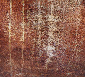 Abstract corroded colorful rusty metal background Royalty Free Stock Photo