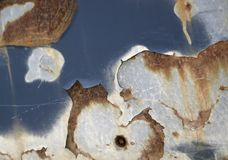 Abstract corrosion detail Stock Photography