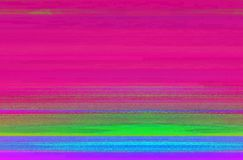 Abstract corrupted computer digital file with displaced pixels stock illustration