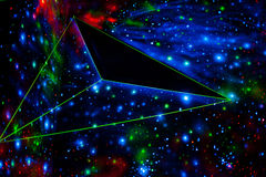 Abstract cosmic background Stock Images