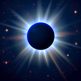 Abstract cosmic background with place for Your tex Royalty Free Stock Photo