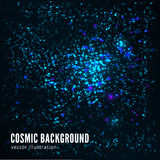 Abstract cosmic background Stock Image