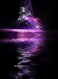 Abstract Cosmic Holiday background Royalty Free Stock Photos