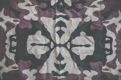 Abstract cotton Printed military graphic background Royalty Free Stock Image