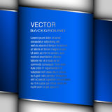 Abstract cover blue background vector illustration. Stock Photo