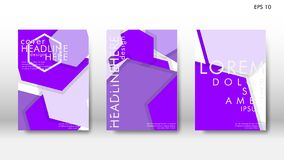 Abstract cover with hexagon elements. book design concept. Futuristic business layout. Digital poster template. Design Vector - eps10 vector illustration