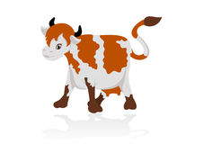 Abstract cow Stock Image