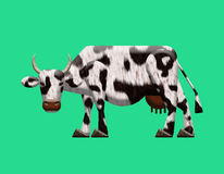 Abstract cow textured. Stock Photo