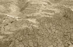 Abstract cracked earth surface Royalty Free Stock Photography