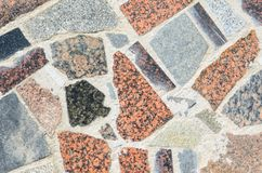 Abstract Mosaic Texture. Abstract Cracked Mosaic Texture from Natural Stones Stock Images