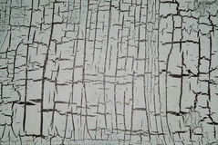 Abstract cracked paint background. Royalty Free Stock Photography