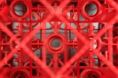 Abstract crates Royalty Free Stock Photo