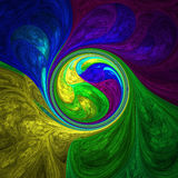 Abstract crazy wallpaper Royalty Free Stock Image