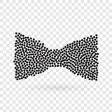 Abstract creatief concepten vectorpictogram van bowtie voor Web en mobiele die app op achtergrond wordt geïsoleerd Het malplaatje Royalty-vrije Stock Afbeeldingen