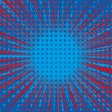 Abstract Creatief van de het pop-artstijl van de concepten vectorstrippagina leeg de lay-outmalplaatje met van wolkenstralen en p vector illustratie
