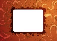 Abstract creative background. With blank card for text Royalty Free Stock Image