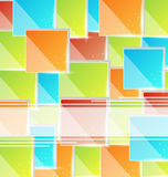 Abstract creative background with copy space Stock Image