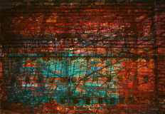 Abstract creative background - lines, light and color. Red and green Stock Photos
