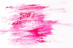 Abstract creative background, smeared pink color. Stock Photography