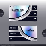 Abstract creative business card.  Vector. Stock Photography