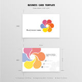 Abstract Creative Business Cards Design Template. Name Cards  Stock Images