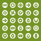 Abstract creative business icons vector collection Stock Image