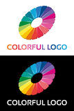 Abstract creative colorful logo Stock Photo