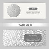 Abstract Creative concept vector background of geometric shapes. Polygonal design style letterhead and brochure for Royalty Free Stock Photography