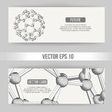 Abstract Creative concept vector background of geometric shapes. Polygonal design style letterhead and brochure for Stock Photos