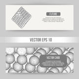 Abstract Creative concept vector background of geometric shapes. Polygonal design style letterhead and brochure for Stock Images
