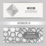Abstract Creative concept vector background of geometric shapes. Polygonal design style letterhead and brochure for Stock Image