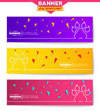 Abstract creative concept vector background for Web and Mobile Applications, Illustration template design, business Stock Images