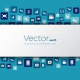 Abstract Creative concept vector empty speech bubbles Stock Photo