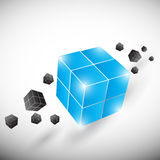 Abstract creative cubes Stock Images
