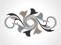 Abstract creative decorative element Royalty Free Stock Image