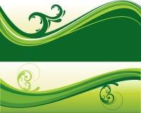 Abstract creative fantastic wave Royalty Free Stock Image