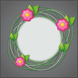 Abstract creative floral background Stock Image