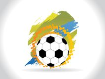 Abstract creative football background Royalty Free Stock Image