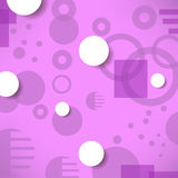 Abstract Creative Geometric Pink Background. Royalty Free Stock Photos