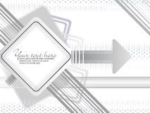 Abstract creative grey background. Vector illustration Stock Photos