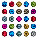 Abstract creative icons vector collection, design elements Stock Images