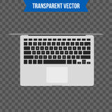 Abstract creative Laptop. Isolated mockup on background. Isometric 3D style template. For web and mobile app clipart art Stock Images