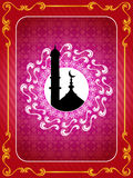 Abstract creative religious eid background Stock Photos