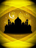 Abstract creative religious eid background Royalty Free Stock Photos